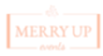 V LIGHT ROSE GOLD merry up event header