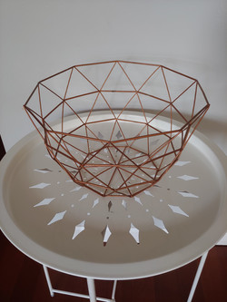 4 metal baskets