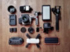 Vlogger-Ausrüstung