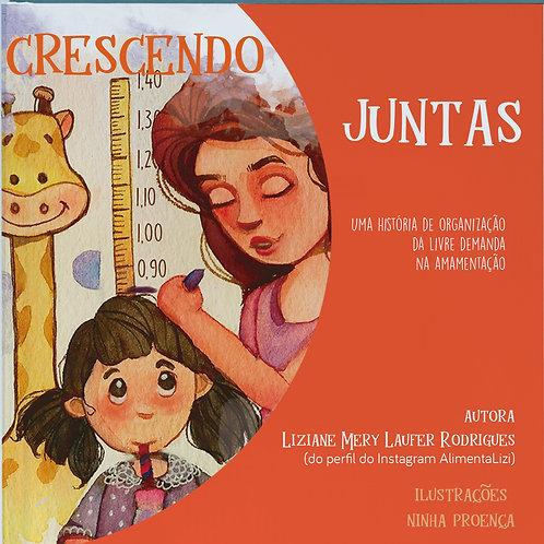Livro Mãe e Criança Crescendo Juntas