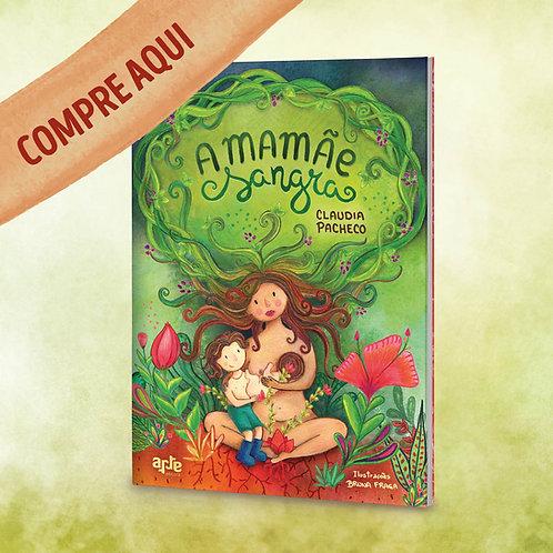 """Livro infantil """"A mamãe sangra"""""""