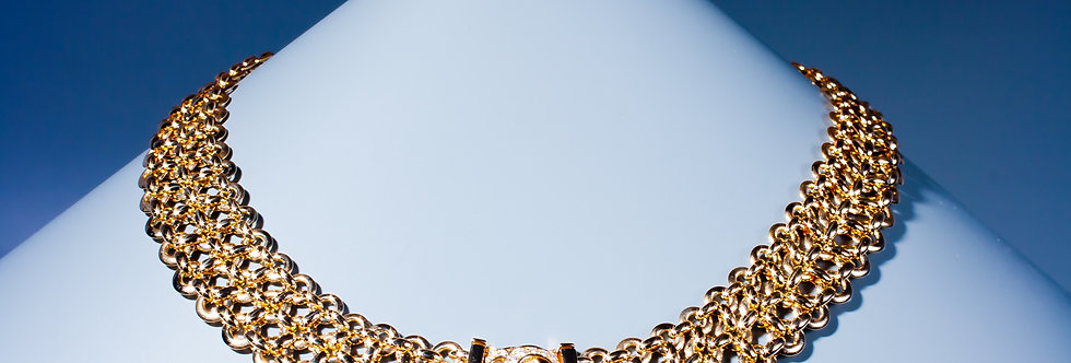 A gold and diamond 'Penelope' necklace by Cartier