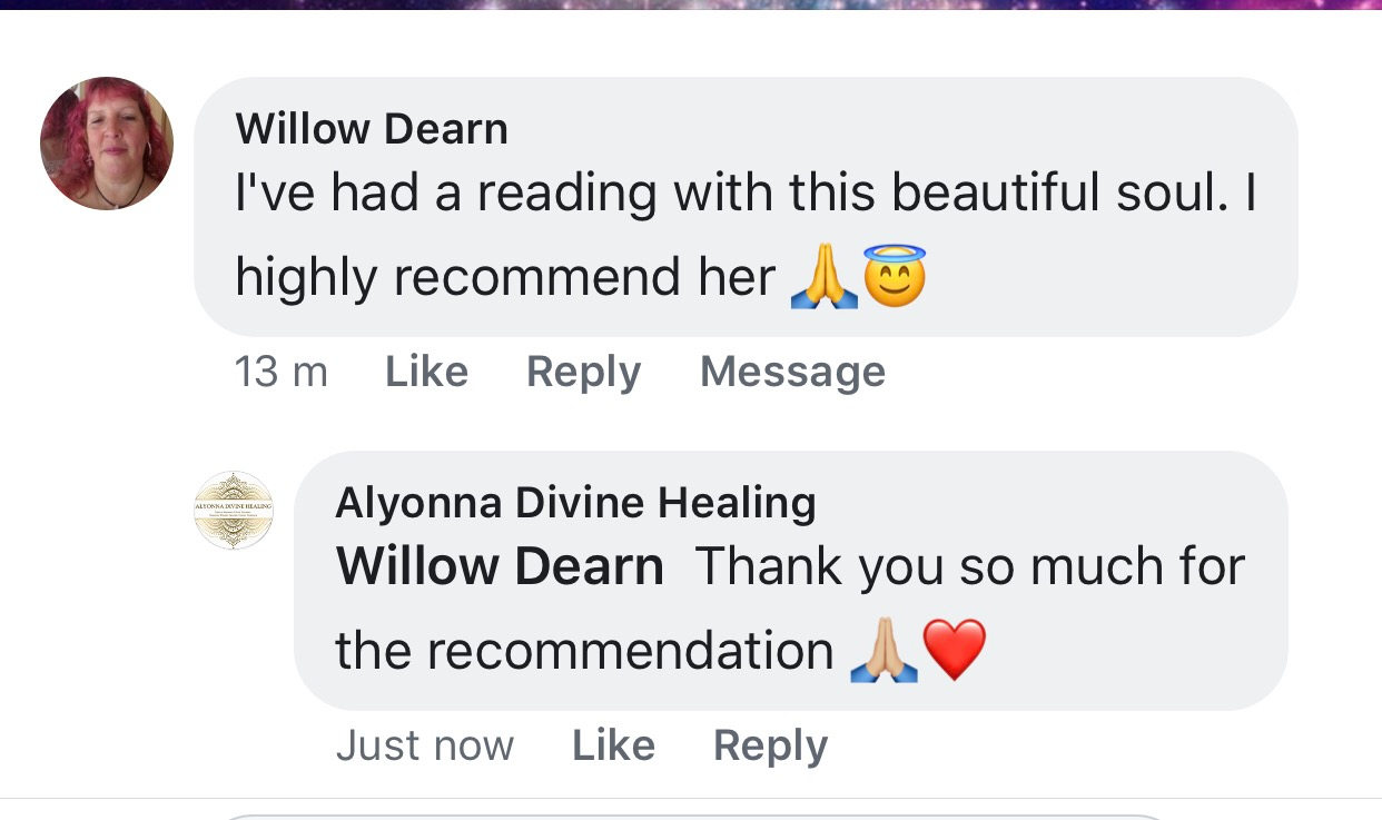review alyonna divine healing