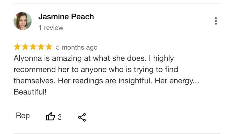 alyonna divine healing review