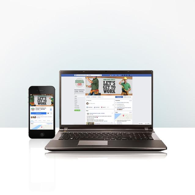 General Hardware and Lumber Social Media