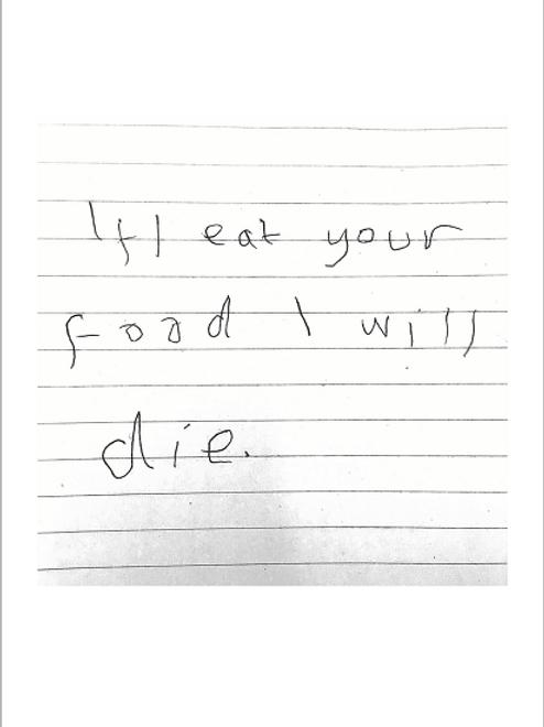 I Will Die - Postcard