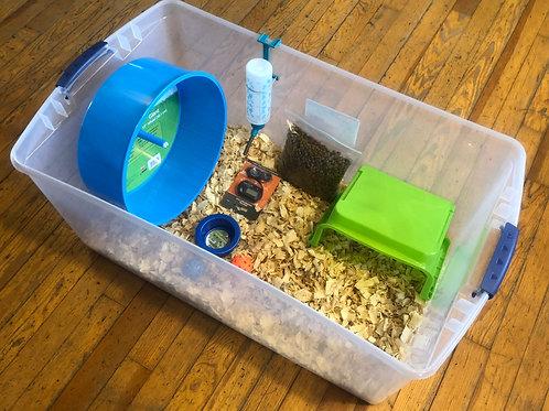 Plastic Tote Habitat Kit