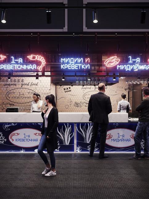 3д-визуализация интерьера ресторана