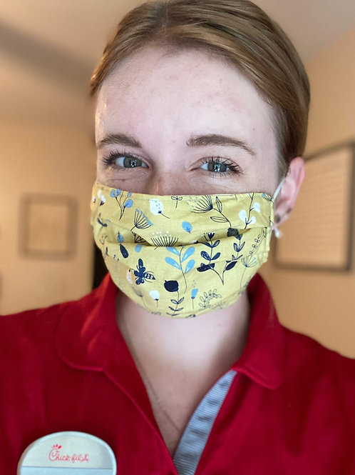 Washable Reusable Face Mask w/ FREE shipping!