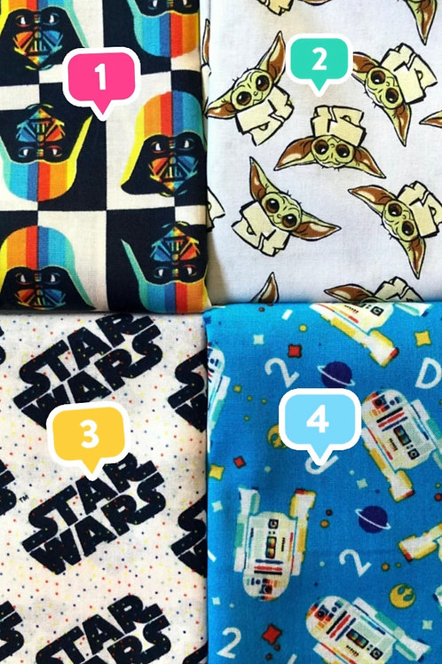 Star Wars Masks! Multiple Prints! Washable Cotton Mask w/ free shi