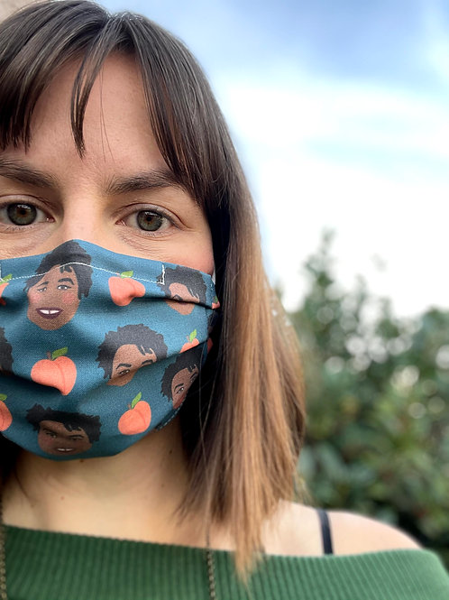 Stacey Abrams Washable Reusable Cotton Mask w/ free shipping!