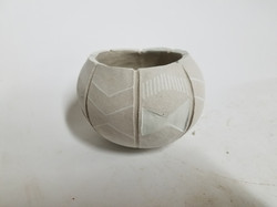 """Tribal Pinch Pot"""