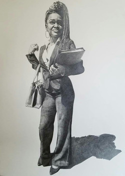 """Modern Emancipation- Self Portrait 3"""