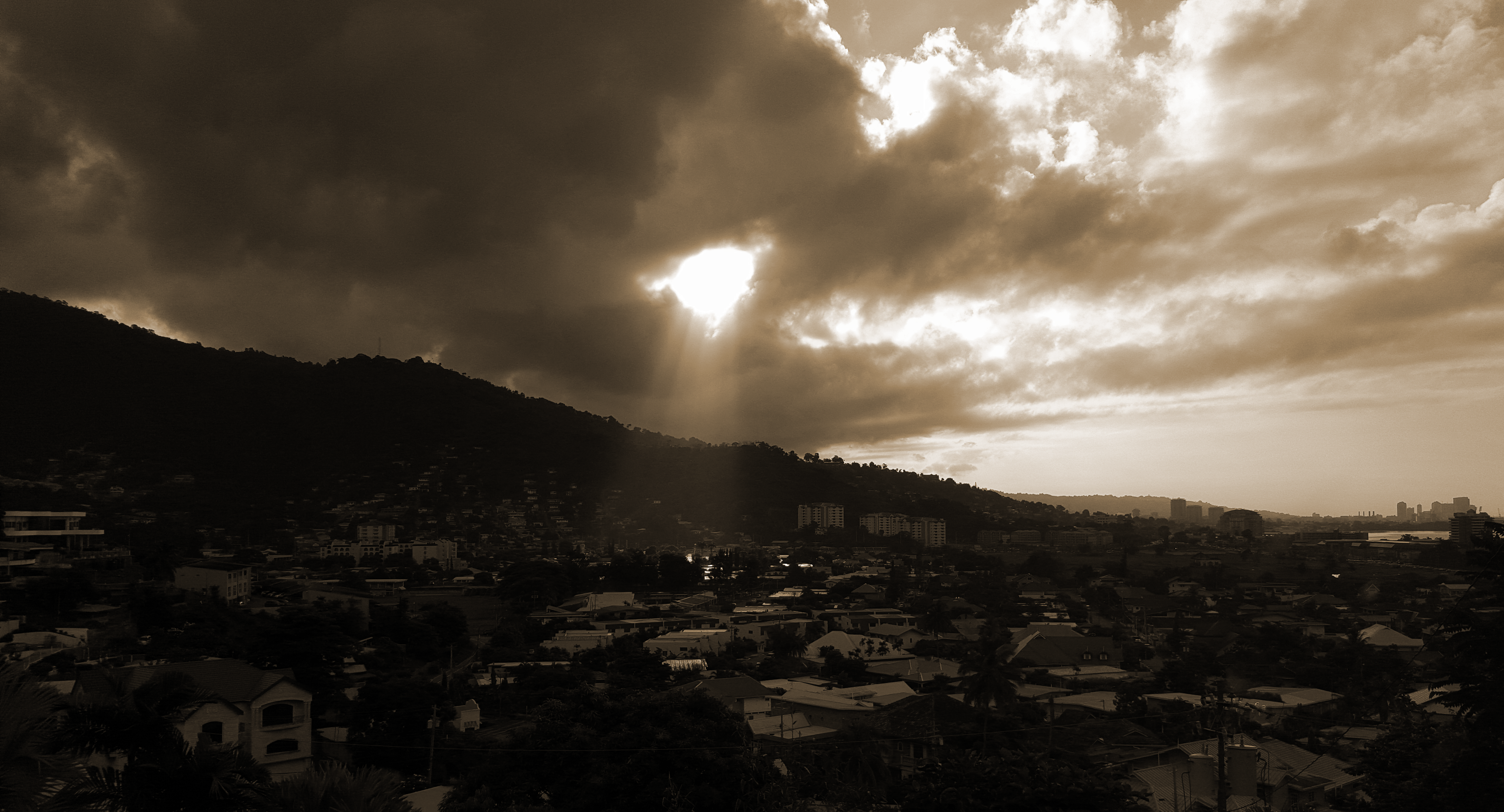 """A View of Port-of-Spain: Glory"""
