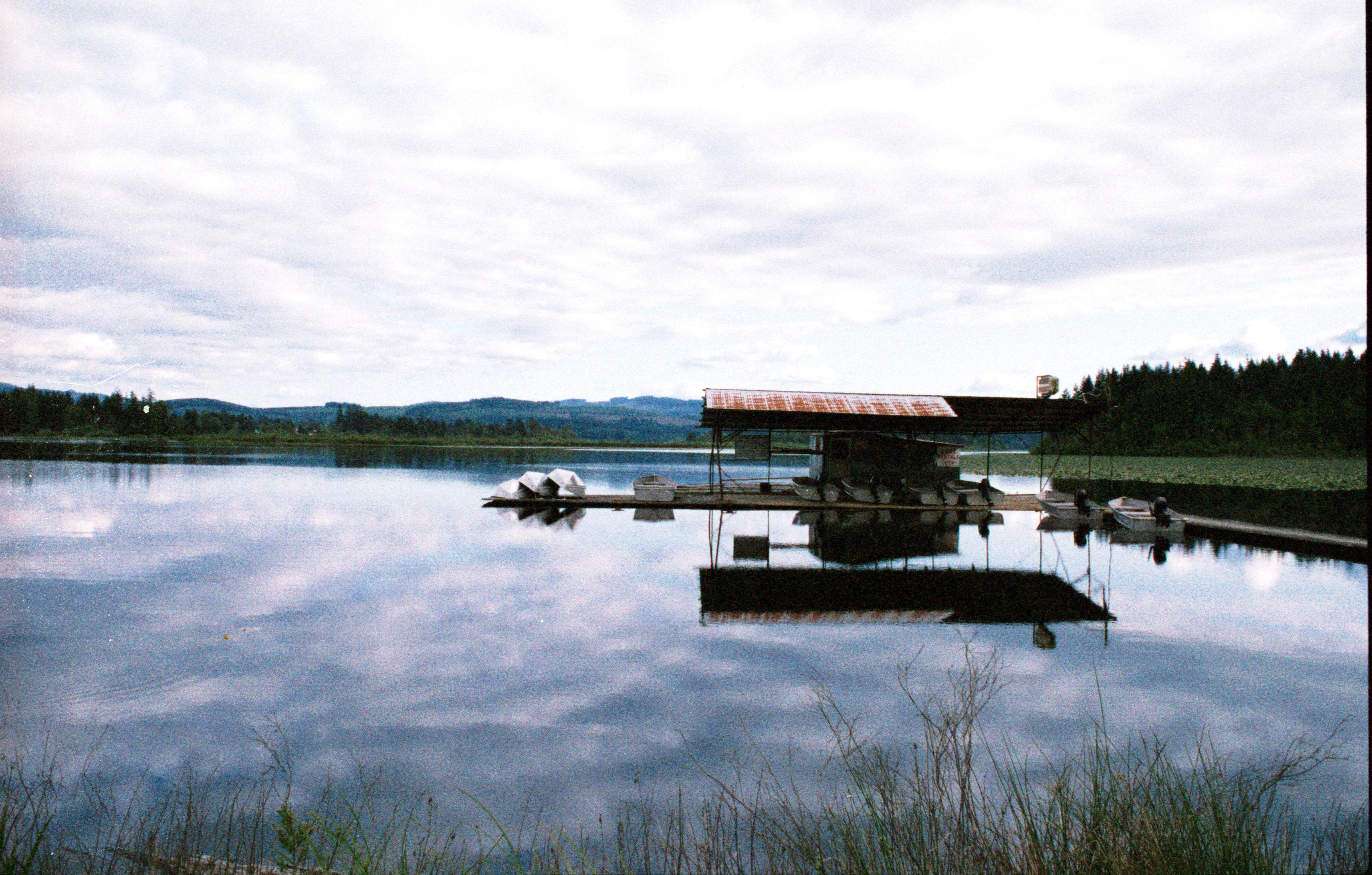 Silver Lake, near Mt St Helens