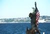 Lady Liberty, Alki Beach, after 9/11