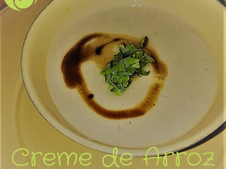 Crème de riz trempée