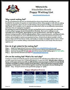 Waiting List Form
