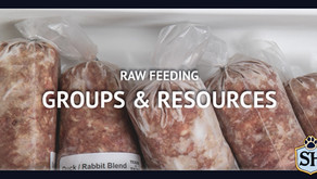 Raw Feeding Groups & Resources