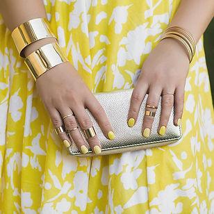 אופנה ולק גל אן אנד די צהוב
