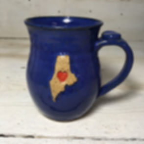 Maine Mug in Blue