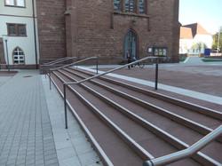 Treppe im Kloster Heiligenbronn