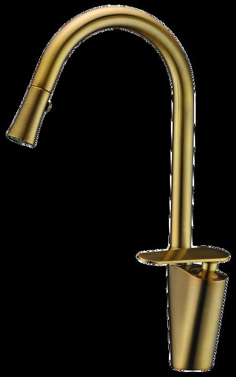 ברז זהב למטבח-KATE דגם