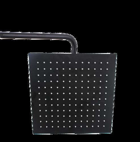 ראש מקלחת מרובע 20*20 בצבע שחור