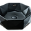 Thumbnail: כיור שחור מט מתומן