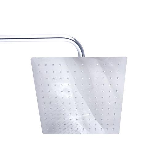 ראש מקלחת ניקל מרובע 20*20