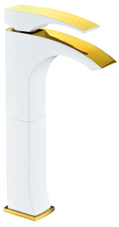 דגם גולד יוקרתי - לבן בשילוב זהב גבוה