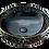 Thumbnail: כיור שחור מעוגל בשילוב זהב