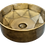 Thumbnail: כיור זהב בהיר מעוצב יהלום