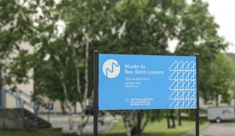 Product gaphic and print media Le Musée du Bas-Saint-Laurent s'anime Team Québec  Quebec, Quebec, Canada