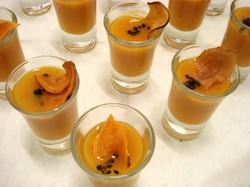 Orange appetizers / 50 guests