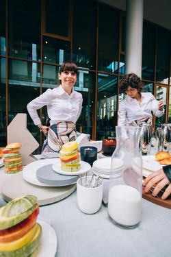 Press breakfast / 80 guests
