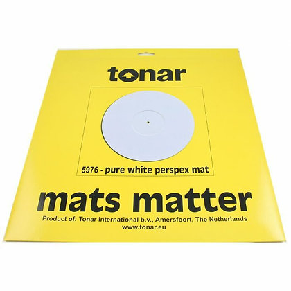 Tonar PURE WHITE PERSPEX MAT - Base para Gira-disc