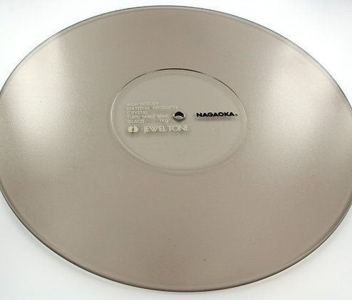Nagaoka gl-602 crystal turntable mat - Base estabilizadora