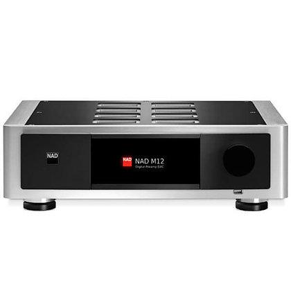 NAD M 12 - Pré-Amplificador/DAC Estéreo