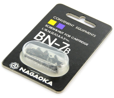 Nagaoka BN-7 B – ALL Screw - Kit Parafusos