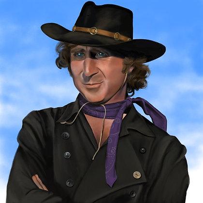 Classic Gene: The Waco Kid (print)