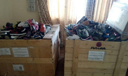 Donation received in Togo
