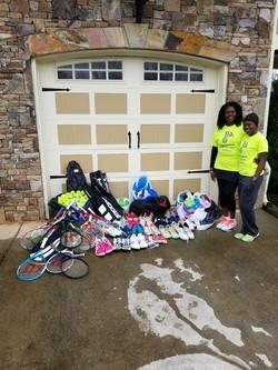 Donation sent to Ghana