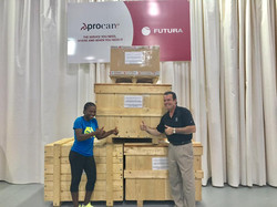 Christina Viviers Shipping to Africa