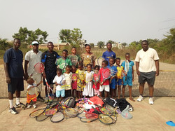 Donation received in Benin