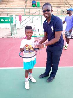Donation to juniors