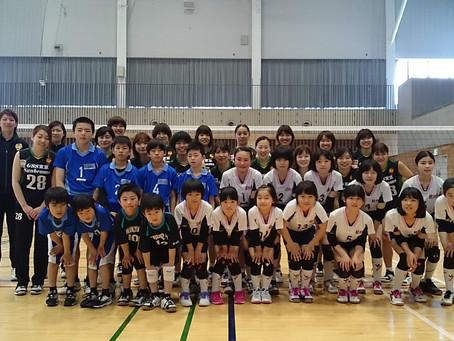 軽井沢Jrバレーボール教室