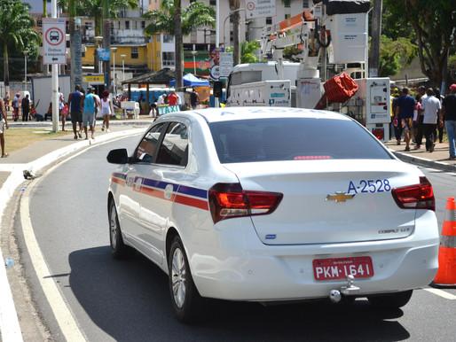 Táxis transportam 131 mil foliões em cinco dias de Carnaval