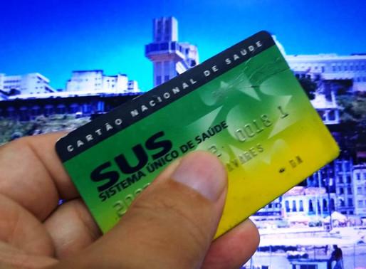 Recadastramento do cartão do SUS é prorrogado para setembro
