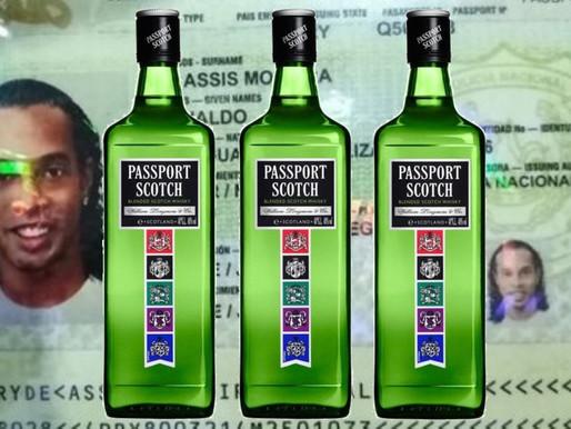 O passaporte paraguaio do Ronaldinho era paraguaio